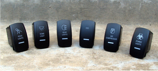 pics of your switches - JKowners com : Jeep Wrangler JK Forum